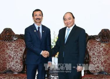 フック首相、アラブ首長国連邦のDPワールドの会長と会見 - ảnh 1