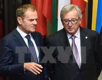 アングル:EU首脳会議は対立不可避、難民問題など議論へ  - ảnh 1