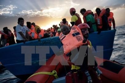 IOM、「渡航中に死亡した難民はおよそ7200人に」 - ảnh 1