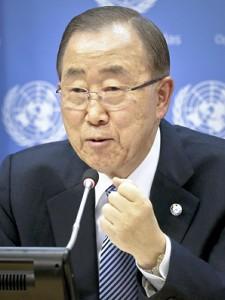 潘国連事務総長、韓国大統領選「真剣に考える」 - ảnh 1