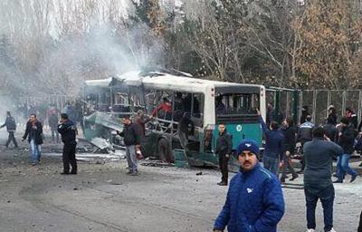 トルコ「自動車爆弾テロは分離主義組織の犯行」 - ảnh 1