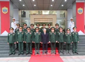 チョン書記長、国防省第2総局を訪問 - ảnh 1