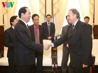 クアン主席、ユネスコのGCP担当者と会見 - ảnh 1
