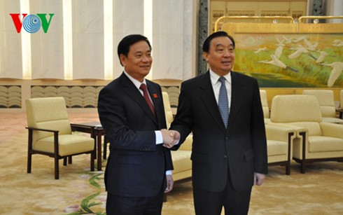 ベトナムと中国 国会協力を強化 - ảnh 1