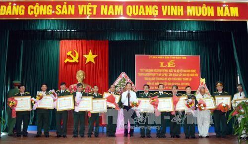 カンボジアで、ベトナム人民軍創設72周年を祝う活動 - ảnh 1