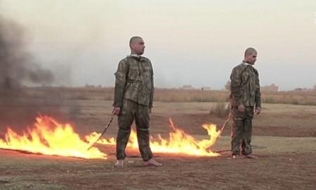 ISが動画公開、トルコ軍兵士2人を焼殺か - ảnh 1