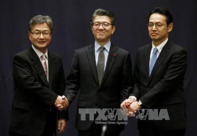 中旬にも日米韓会合か=6カ国協議の首席代表 - ảnh 1