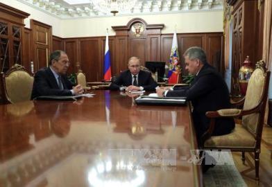 トランプ米大統領、ウクライナ・ロシア問題で両国との協力表明 - ảnh 1
