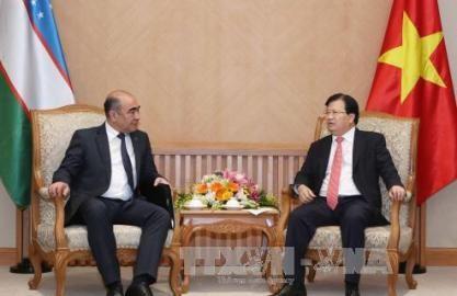 ズン副首相、ウズベキスタンの副首相と会見 - ảnh 1