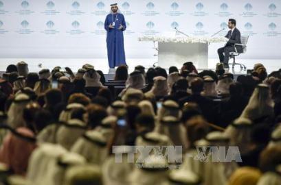 ドバイで「世界政府サミット」開幕  - ảnh 1