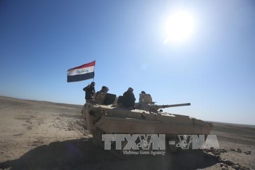 イラク軍、第2都市モスル西部解放作戦 開始 - ảnh 1