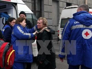 ロシア地下鉄爆発、死者11人に - ảnh 1