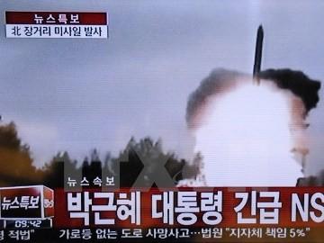 朝鮮民主主義人民共和国 発射は新型中距離弾道ミサイルか - ảnh 1