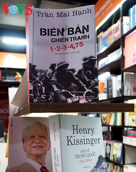 記者チャン・マイ・ハインの歴史小説「戦争の記述」 - ảnh 4