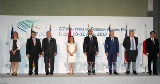 G7外相、シリア問題でロシアに影響力行使求める - ảnh 1