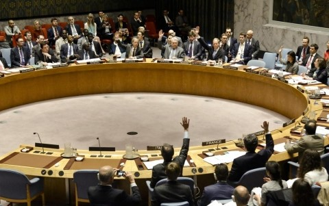 シリア化学兵器、究明へ協力=安倍首相-菅長官、安保理否決は「遺憾」 - ảnh 1