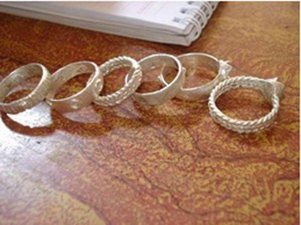 チュル族の婚約指輪 - ảnh 1