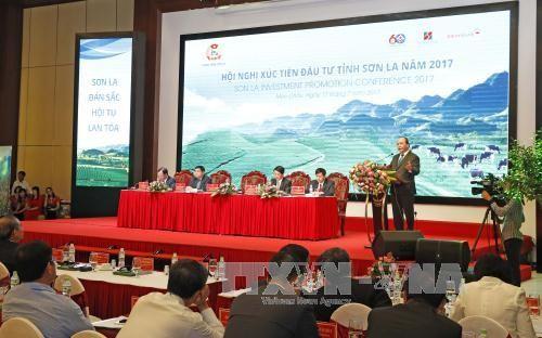 フック首相、ソンラ省の投資振興会議に出席 - ảnh 1