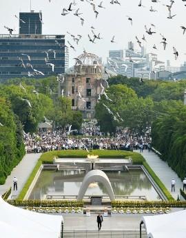 長崎 原爆投下から72年となる「原爆の日」 - ảnh 1