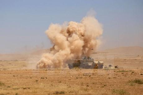 イラク・タルアファルでISISのメンバー50名以上が死亡、15の村が解放 - ảnh 1