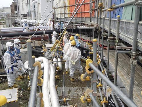 福島第1原発の凍土壁、全面凍結へ作業開始  - ảnh 1