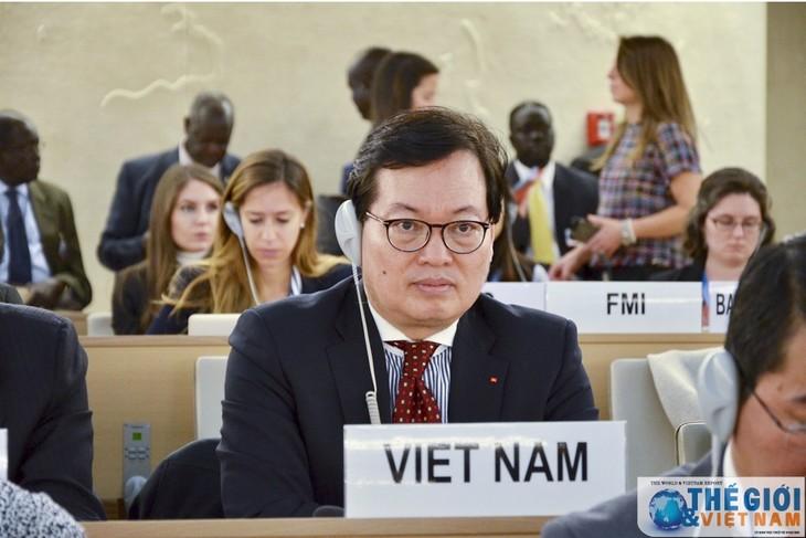 ズン大使、WIPO総会議長に当選 - ảnh 1