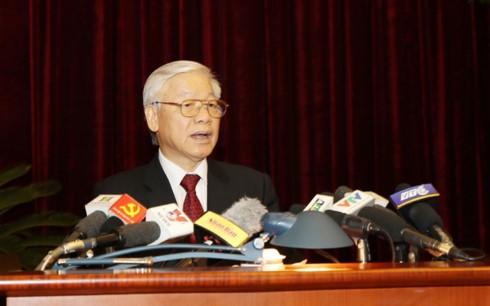 党中央委、複数の問題を討議 - ảnh 1