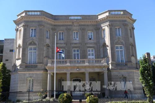 キューバ外交官15人の退去、トランプ政権が要請 - ảnh 1