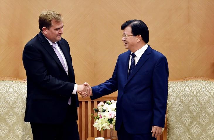 ズン副首相、「ブルー・ウェール」ガス田開発交渉を促す - ảnh 1