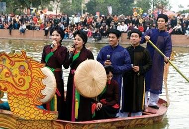 ベトナム北部の民謡クアンホ - ảnh 1