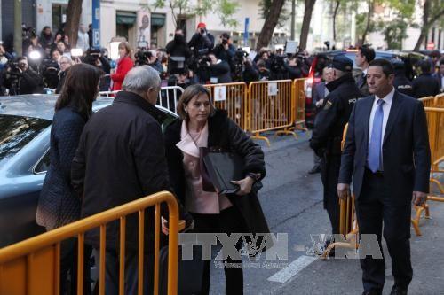カタルーニャ州前議長を一時拘留 スペイン裁判所 - ảnh 1
