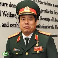 Jenderal Phung Quang Thanh menerima Franz Jessen, Duta Besar, Kepala Perutusan Uni Eropa di Vietnam. - ảnh 1