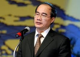 Deputi Perdana Menteri Nguyen Thien Nhan melakukan kunjungan resmi di Republik India. - ảnh 1