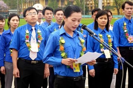 Festival ke-2 pemuda pedesaan Ibu Kota Hanoi dibuka pada Sabtu malam. - ảnh 1