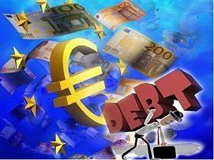 Utang publik di Eurozone meningkat secara drastis - ảnh 1
