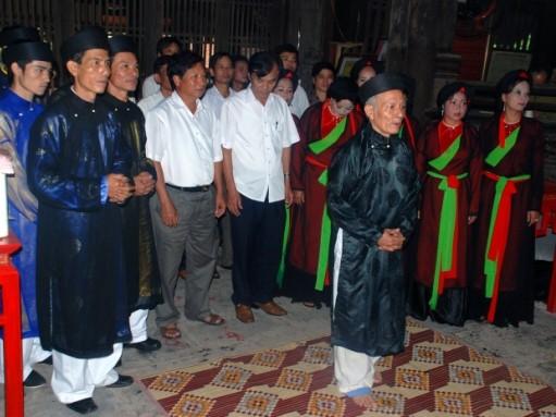 Adat menggalang persaudaraan, ciri budaya yang indah di pedesaan daerah Bac Bo - ảnh 2