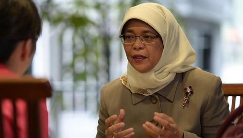 Para pemimpin Negara dan MN Vietnam menerima Wakil ketua Parlemen Singapura  - ảnh 1