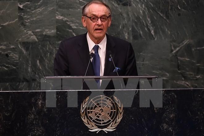 PBB memperingati ulang tahun ke-15 lahirnya Perjanjian Global PBB - ảnh 1