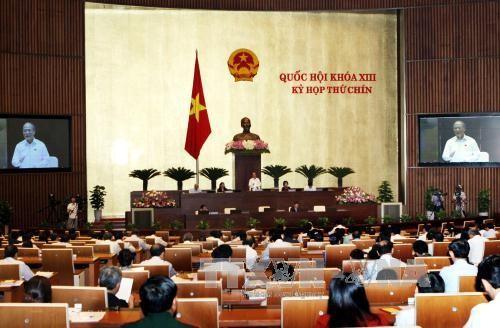 Selar-selar pada Persidangan ke-9 Majelis Nasional Vietnam angkatan ke-13 - ảnh 1