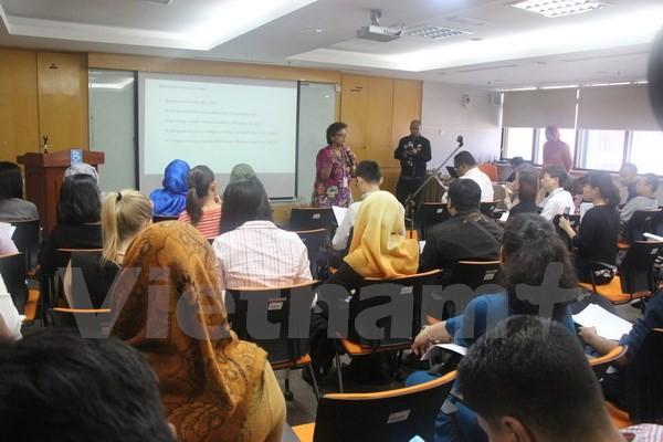 ASEAN mengadakan jumpa pers tentang Konferensi Menlu ASEAN dan semua konferensi yang bersangkutan - ảnh 1