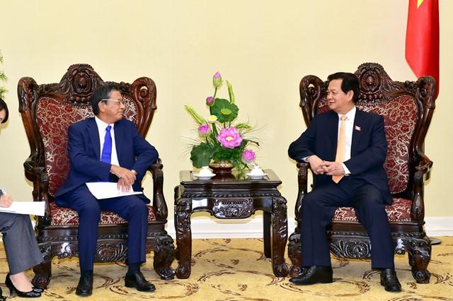PM Nguyen Tan Dung menerima Duta Besar Jepang - ảnh 1