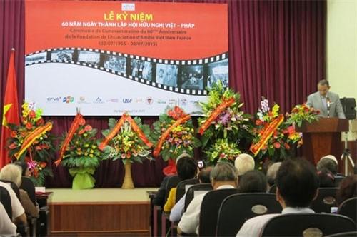 Memperingati ulang tahun ke-60 Berdirinya Asosiasi Persahabatan Vietnam-Perancis - ảnh 1