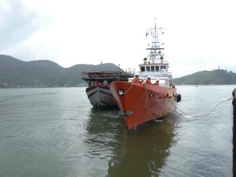 Kasus kapal ikan provinsi Binh Dinh ditenggelamkan - ảnh 1