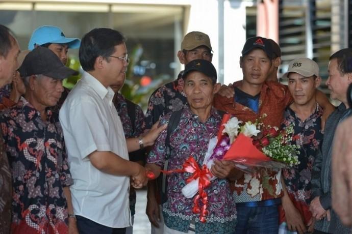 Nelayan Vietnam dapat melakukan repatriasi untuk menyambut Hari Raya Tet - ảnh 1