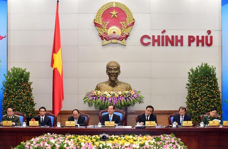 Jumpa pers periodik pertama Pemerintah Vietnam tahun 2016 - ảnh 1