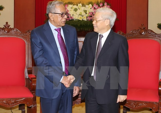 Delegasi PKV menghadiri Kongres ke-XI Partai Komunis Bangladesh - ảnh 1