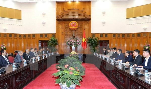 Deputi PM Vuong Dinh Hue menginginkan agar badan-badan usaha India mendorong kerjasama dan investasi di Vietnam - ảnh 1