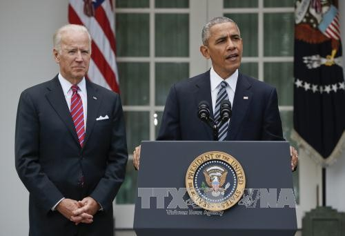 Presiden Obama: Berupaya keras menjamin peralihan kekuasaan secara mulus - ảnh 1
