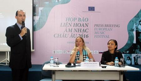 Memperkenalkan Festival ke-15 Musik Eropa  di Vietnam - ảnh 1