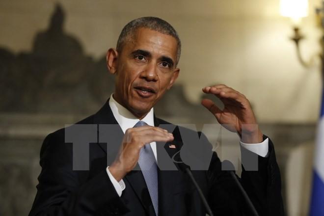 """Presiden AS. Barack Obama mendesak """"deregulasi sesuai dengan orbit"""" dari proses globalisasi - ảnh 1"""